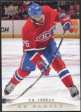 2011/12 Upper Deck Canvas #C161 P.K. Subban