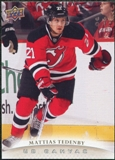 2011/12 Upper Deck Canvas #C165 Mattias Tedenby