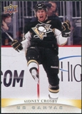 2011/12 Upper Deck Canvas #C185 Sidney Crosby