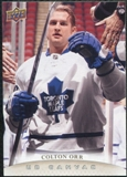 2011/12 Upper Deck Canvas #C196 Colton Orr