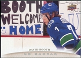 2011/12 Upper Deck Canvas #C200 David Booth