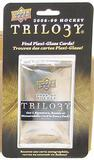 2008/09 Upper Deck Trilogy Hockey Hobby Blister Pack