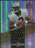 2004 Upper Deck Reflections Pro Cuts Jerseys Gold #PCAB Aaron Brooks