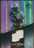 2004 Upper Deck Reflections Pro Cuts Jerseys Gold #PCCM Curtis Martin