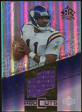 2004 Upper Deck Reflections Pro Cuts Jerseys Gold #PCDC Daunte Culpepper