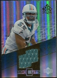 2004 Upper Deck Reflections Pro Cuts Jerseys Gold #PCJS Junior Seau