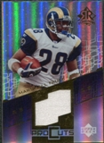 2004 Upper Deck Reflections Pro Cuts Jerseys Gold #PCMF Marshall Faulk SP