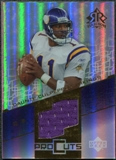 2004 Upper Deck Reflections Pro Cuts Jerseys Gold #PCRM Randy Moss