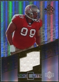 2004 Upper Deck Reflections Pro Cuts Jerseys Gold #PCWS Warren Sapp