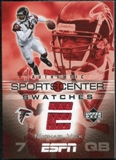 2005 Upper Deck ESPN Sports Center Swatches #MV Michael Vick