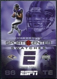 2005 Upper Deck ESPN Sports Center Swatches #TH Todd Heap