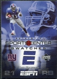 2005 Upper Deck ESPN Sports Center Swatches #TI Tiki Barber SP