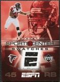 2005 Upper Deck ESPN Sports Center Swatches #TJ T.J. Duckett