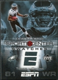 2005 Upper Deck ESPN Sports Center Swatches #TO Terrell Owens