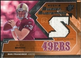 2005 Upper Deck SPx Rookie Swatch Supremacy #RSAS Alex Smith QB