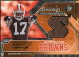 2005 Upper Deck SPx Rookie Swatch Supremacy #RSBE Braylon Edwards
