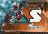 2005 Upper Deck SPx Rookie Swatch Supremacy #RSRB Ronnie Brown
