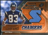 2005 Upper Deck SPx Rookie Swatch Supremacy #RSVJ Vincent Jackson