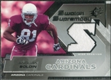 2005 Upper Deck SPx Swatch Supremacy #SWAB Anquan Boldin