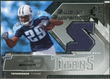 2005 Upper Deck SPx Swatch Supremacy #SWCB Chris Brown