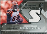 2005 Upper Deck SPx Swatch Supremacy #SWCJ Chad Johnson