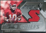 2005 Upper Deck SPx Swatch Supremacy #SWTG Trent Green
