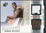 2005 Upper Deck SPx Rookie Winning Materials #RWMBE Braylon Edwards