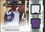 2005 Upper Deck SPx Rookie Winning Materials #RWMCI Ciatrick Fason