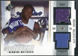 2005 Upper Deck SPx Rookie Winning Materials #RWMMC Mark Clayton