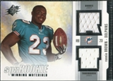 2005 Upper Deck SPx Rookie Winning Materials #RWMRB Ronnie Brown
