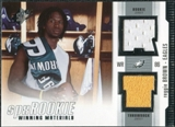 2005 Upper Deck SPx Rookie Winning Materials #RWMRE Reggie Brown
