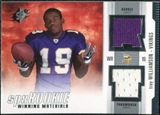 2005 Upper Deck SPx Rookie Winning Materials #RWMTW Troy Williamson