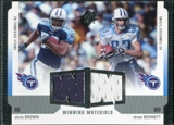 2005 Upper Deck SPx Winning Materials #BB Chris Brown/Drew Bennett