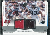 2005 Upper Deck SPx Winning Materials #CC Michael Clayton/Keary Colbert