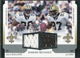 2005 Upper Deck SPx Winning Materials #DH Deuce McAllister/Joe Horn