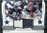 2005 Upper Deck SPx Winning Materials #JD Julius Jones/Drew Bledsoe