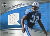 2005 Upper Deck Sweet Spot Rookie Sweet Swatches #SRAJ Adam Jones
