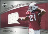 2005 Upper Deck Sweet Spot Rookie Sweet Swatches #SRAN Antrel Rolle