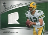 2005 Upper Deck Sweet Spot Rookie Sweet Swatches #SRAR Aaron Rodgers