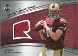 2005 Upper Deck Sweet Spot Rookie Sweet Swatches #SRAS Alex Smith QB