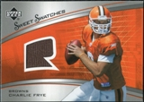 2005 Upper Deck Sweet Spot Rookie Sweet Swatches #SRCF Charlie Frye