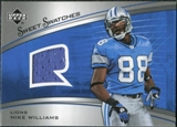 2005 Upper Deck Sweet Spot Rookie Sweet Swatches #SRMW Mike Williams