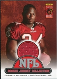 2005 Upper Deck Rookie Materials Rookie Jerseys #R11 Cadillac Williams