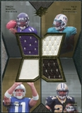 2007 Upper Deck SPx Freshman Tandems Quad Jerseys #SGGP Troy Smith/Ted Ginn Jr./Anthony Gonzalez/Antonio Pittm