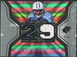 2007 Upper Deck SPx Winning Materials Jersey Number #WMCH Chris Brown