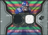 2007 Upper Deck SPx Winning Materials Jersey Number #WMJS Jeremy Shockey