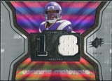 2007 Upper Deck SPx Winning Materials Jersey Number #WMSR Sidney Rice