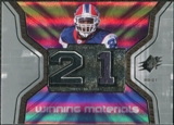 2007 Upper Deck SPx Winning Materials Jersey Number #WMWM Willis McGahee