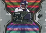 2007 Upper Deck SPx Winning Materials Jersey Number #WMCB1 Champ Bailey