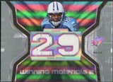2007 Upper Deck SPx Winning Materials Jersey Number Dual #WMCH Chris Brown